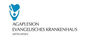 Logo des Agaplesion Evangelisches Krankenhaus in Mittelhessen, Gießen