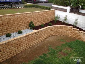Asan Garten- und Landschaftsbau - Projektbeispiel Nr. 2 Gartenbau Giessen: Terasse und Garten