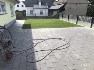 Asan Garten- und Landschaftsbau - Projektbeispiel Nr. 3 Gartenbau Giessen: Terasse und Garten